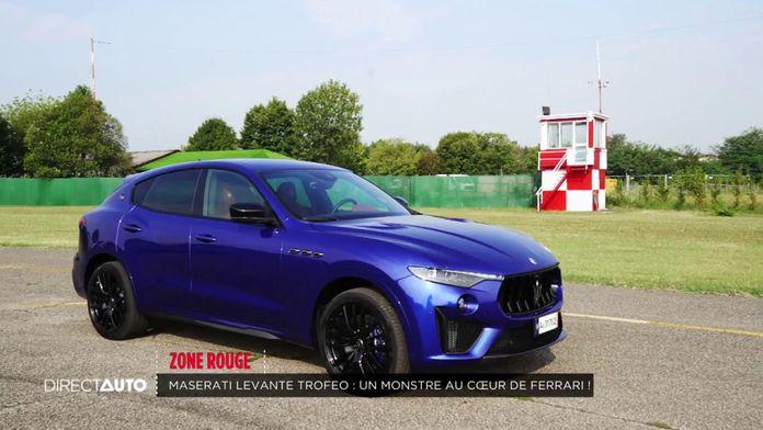 Zone Rouge : Maserati Levante Trofeo