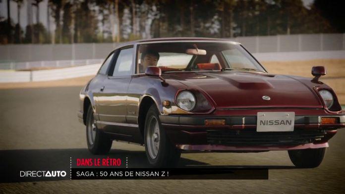 Rétro : les 50 ans du Nissan Z