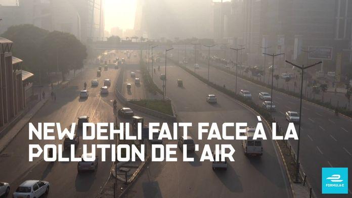 FIA Formule E - The Race for Clean Air - New Delhi