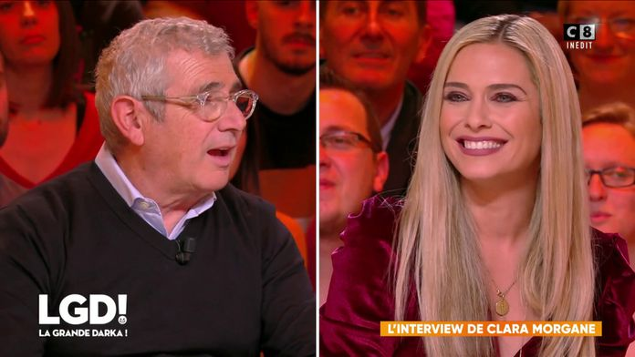 L'interview de Clara Morgane face à Michel Boujenah