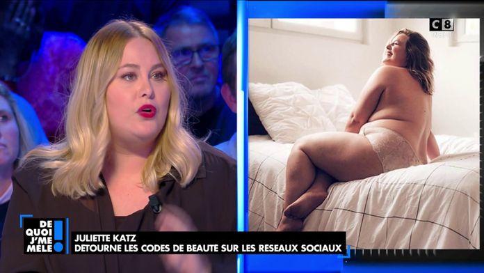 Juliette Katz détourne les codes de beauté sur les réseaux sociaux
