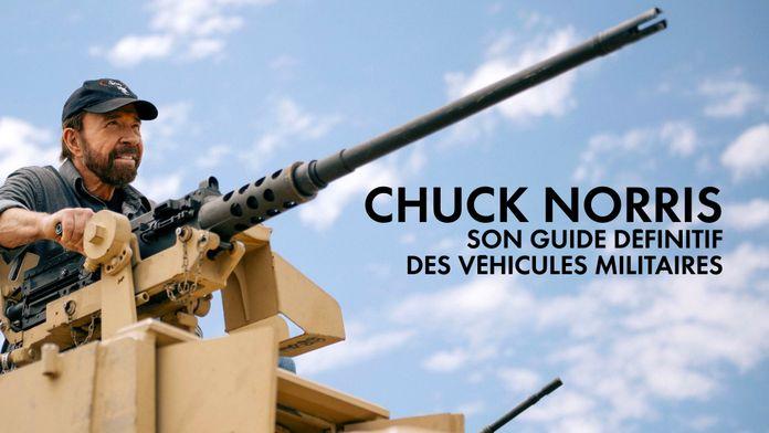 Chuck Norris : son guide définitif des véhicules militaires