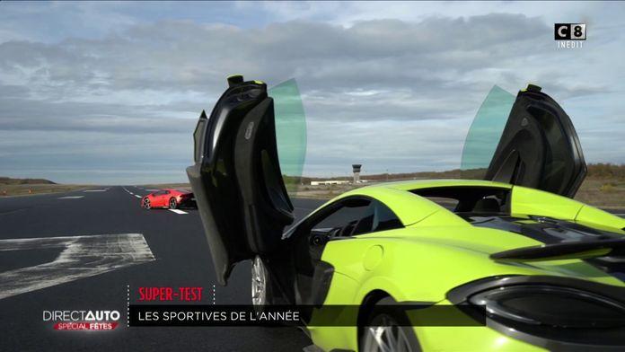 McLaren, Lamborghini, Porsche : le super-test de Noël !