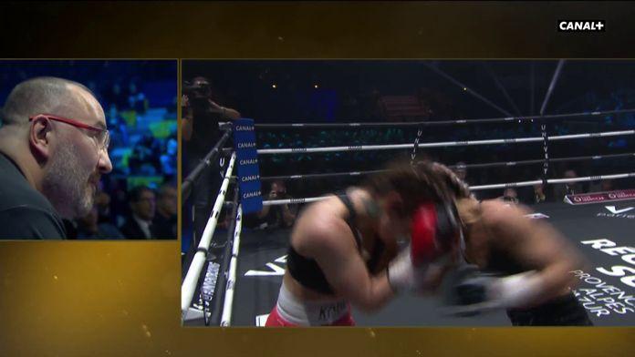 Aux côtés de Fabrice Tiozzo sur le bord du ring