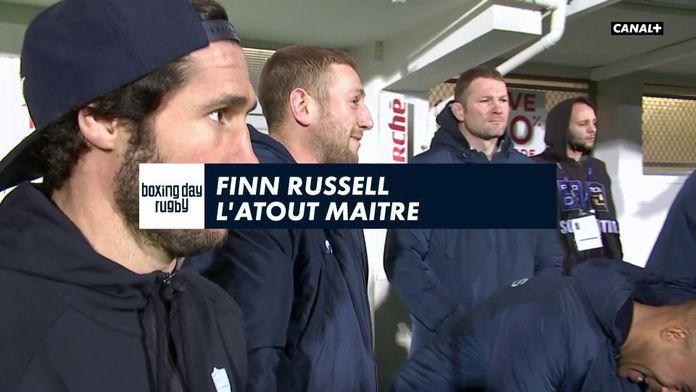 Finn Russell, l'atout maître du Racing 92