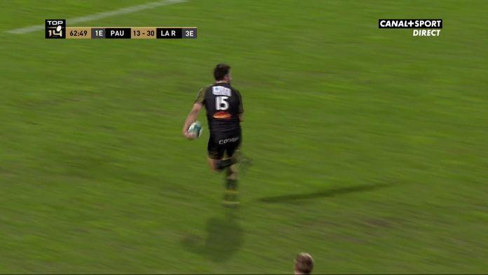 Encore une interception pour la Rochelle et l'essai de Sinzelle !