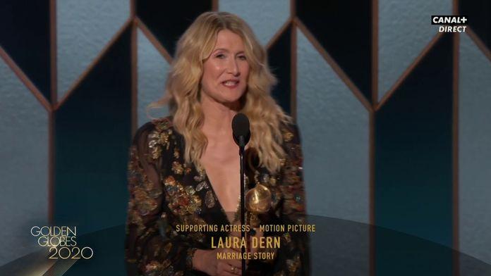 Laura Dern - Meilleure actrice dans un second rôle (Film) - Golden Globes 2020