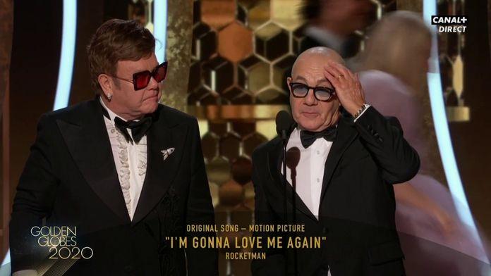 Elton John et Bernie Taupin - Meilleure chanson originale pour Rocketman - Golden Globes 2020