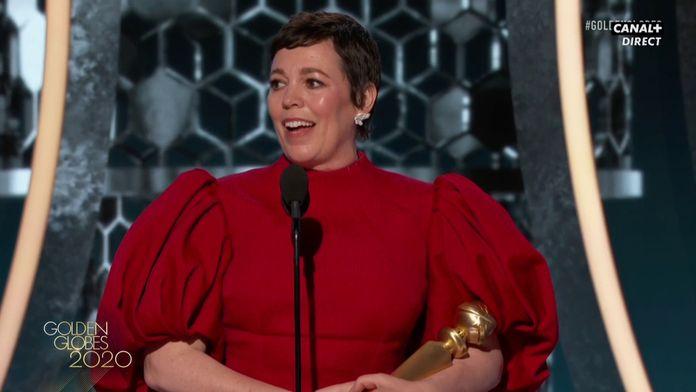 Olivia Colman - Meilleure actrice Drame (série) - Golden Globes 2020
