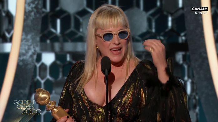 """Patricia Arquette : """"Je vous implore d'offrir un monde meilleur à nos enfants"""" - Golden Globes 2020"""