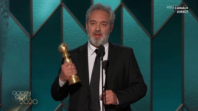 Sam Mendes - Meilleur réalisateur pour 1917 - Golden Globes 2020