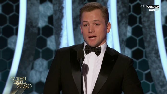 Taron Egerton - Meilleur acteur dans une comédie - Golden Globes 2020