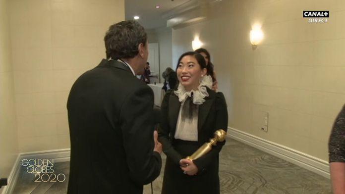 "Awkwafina: ""Je suis submergée d'émotion"" - Golden Globes 2020"