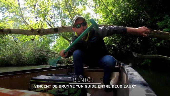 """Vincent de Bruyne """"un guide entre deux eaux"""""""