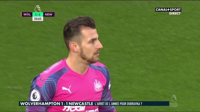 """L'analyse du réflexe """"absolument magnifique"""" de Dubravka contre Wolverhampton"""
