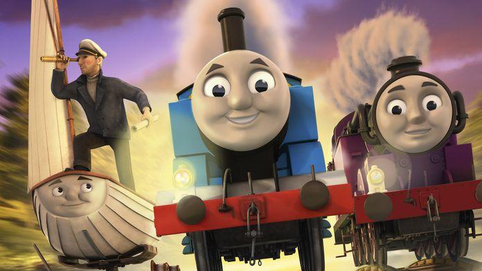 Thomas et ses amis : La légende du trésor perdu - Le film