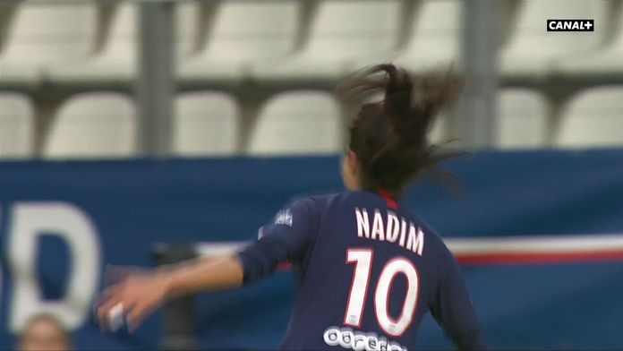 Nadia Nadim double la mise pour le pour le PSG