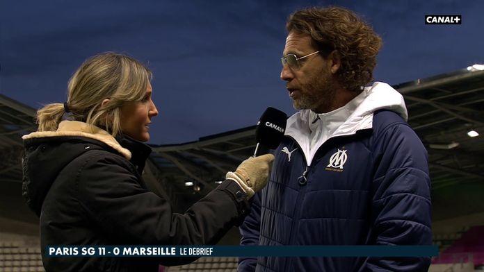 La réaction de Christophe Parra, coach de l'OM
