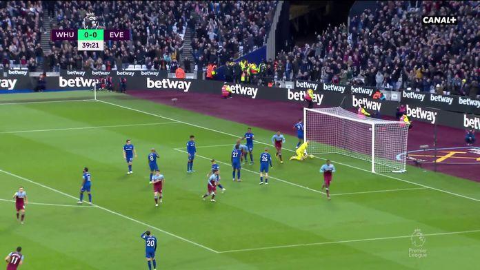 Résumé de West Ham - Everton