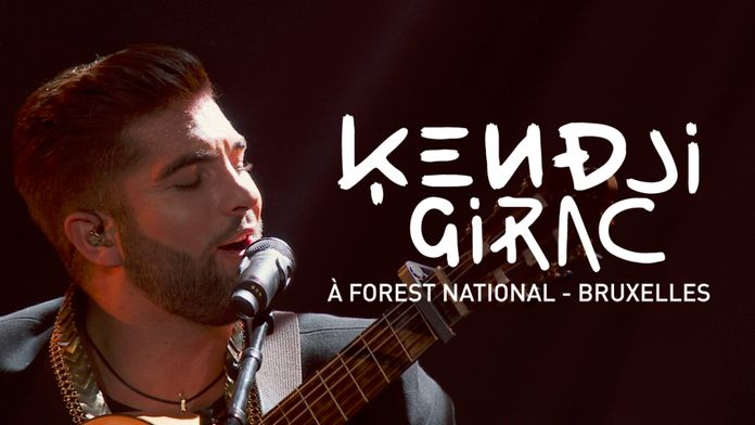 Kendji Girac au Forest National