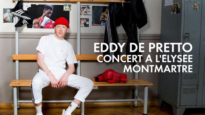 Eddy de Pretto en concert à l'Élysée Montmartre