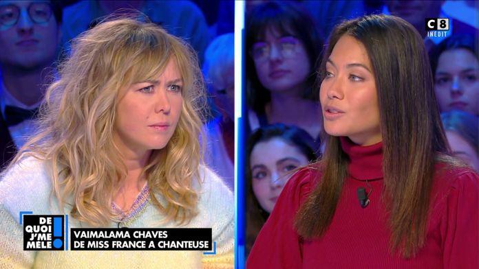 """Miss France, un concours """"fadasse"""" pour Enora Malagré : Vaimalama Chaves répond"""