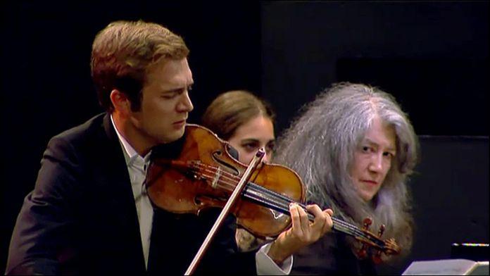 Bartók - Sonates jouées par Matha Argerich, Nelson Freire et Renaud Capuçon