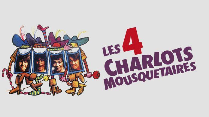 Les quatre Charlots mousquetaires