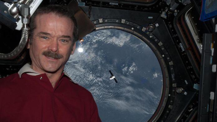 L'homme qui a tweeté depuis l'espace