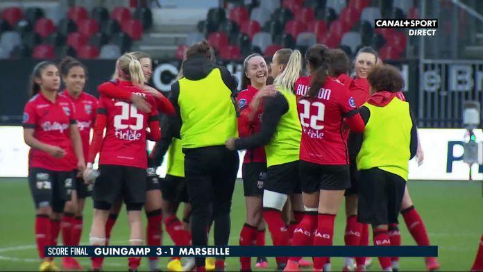 Le résumé de Guingamp / Marseille