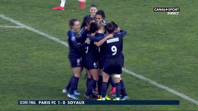 Le résumé de Paris FC / Soyaux