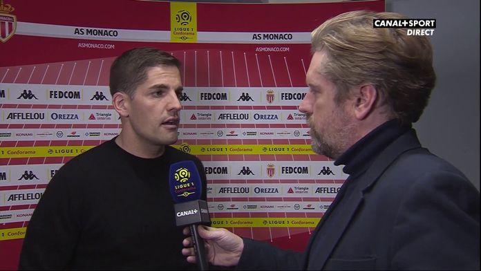 Robert Moreno se confie dans Jour De Foot après la défaite de Monaco