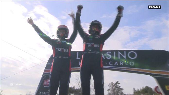 Thierry Neuville remporte le mythique rallye de Monte Carlo !