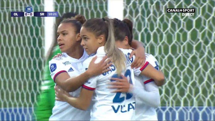 D1 Arkema - Lyon / Reims : Majri ouvre le score !