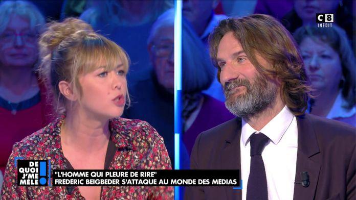 """Enora Malagré à Frédéric Beigbeder : """"Vous êtes ringard"""""""