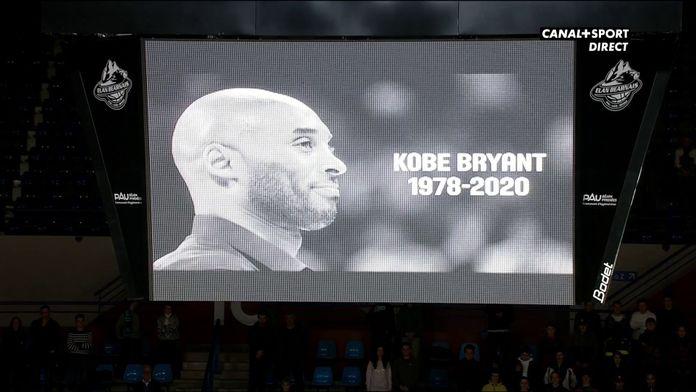 L'Elan Béarnais et Antwerp rendent hommage à Kobe Bryant