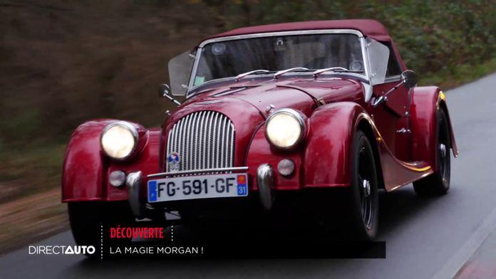 Découverte : Au volant de la Morgan Plus Six !