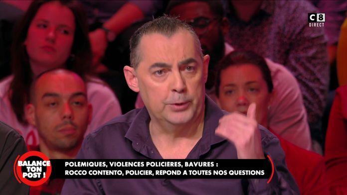 Rocco Contento, policier s'exprime sur les violences policières