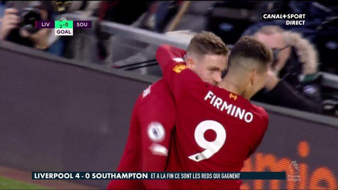 Le résumé de Liverpool / Southampton