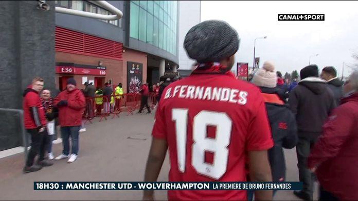 La première de Bruno Fernandes à United