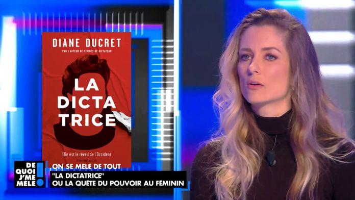 """""""La dictatrice"""" Le nouveau livre de Diane Ducret sur les femmes d'hommes de pouvoir"""