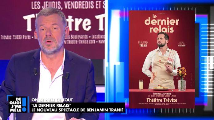 """""""Le dernier relais"""" Le nouveau spectacle de Benjamin Tranié"""