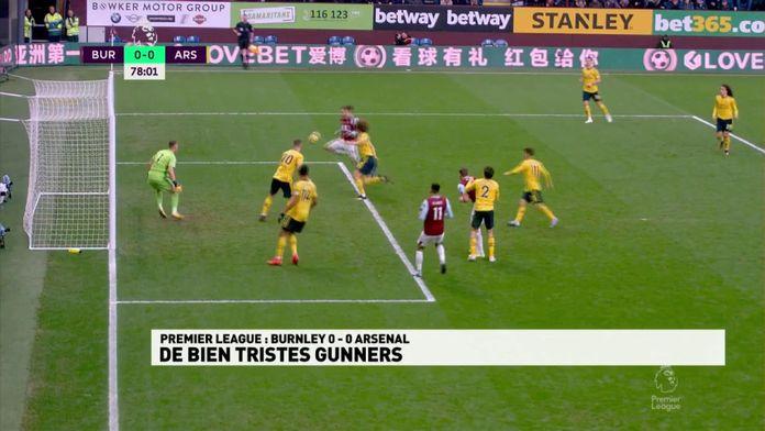 Le résumé de Burnley - Arsenal