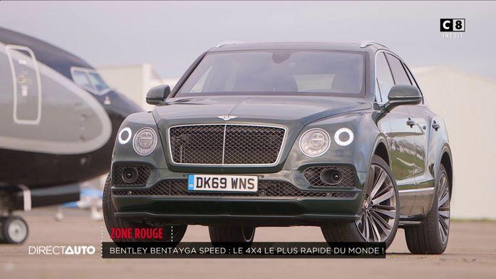Zone Rouge : Bentley Bentayga Speed