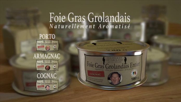 Le foie gras Grolandais