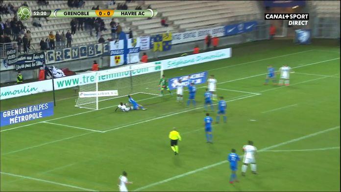 Jamal Thiaré ouvre le score pour Le Havre !