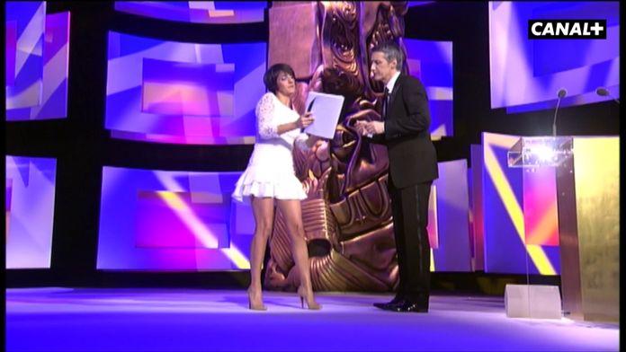Florence Foresti fait le show avec Antoine de Caunes aux César