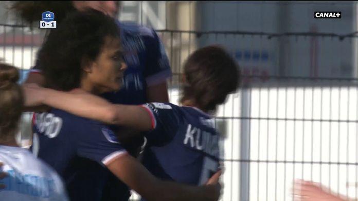 Wendie Renard double la mise sur penalty : OM/OL, 15ème journée D1 Arkema