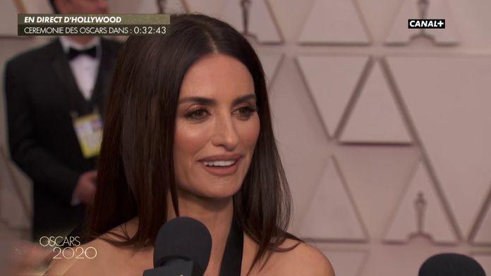 """Penélope Cruz : """"Pedro Almodóvar fait partie intégrante de ma famille"""" - Oscars 2020"""