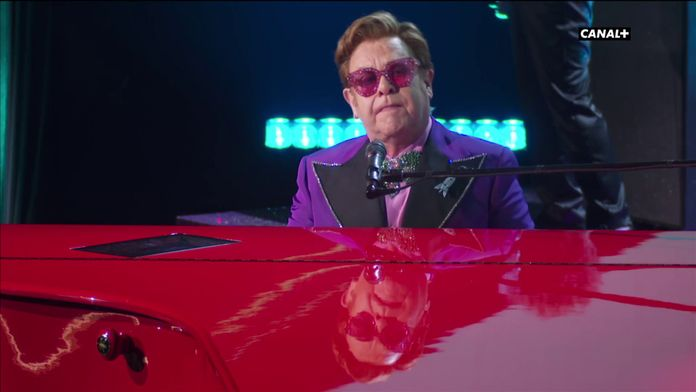 "Elton John interprète ""I'm gonna love me again"" (Rocketman) - Oscars 2020"